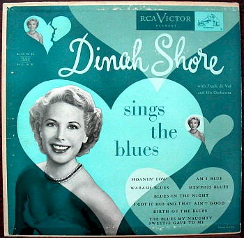 Dinah Shore Sings the Blues