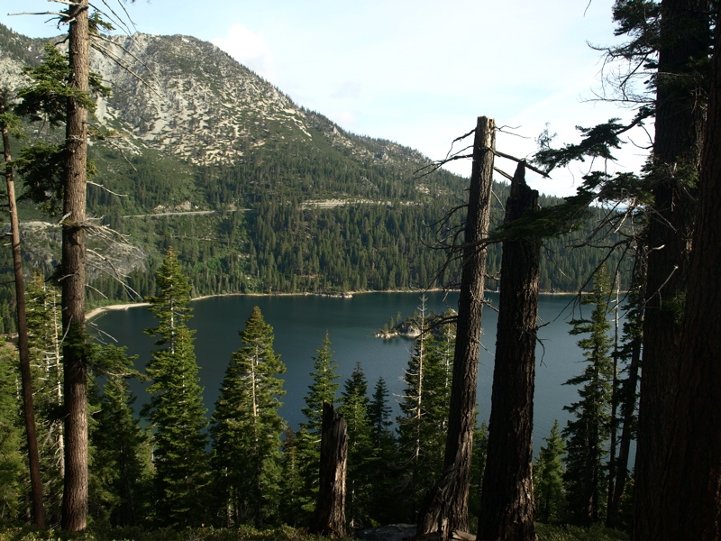 Emerald Bay on Lake Tahoe: Second most photographed in the world